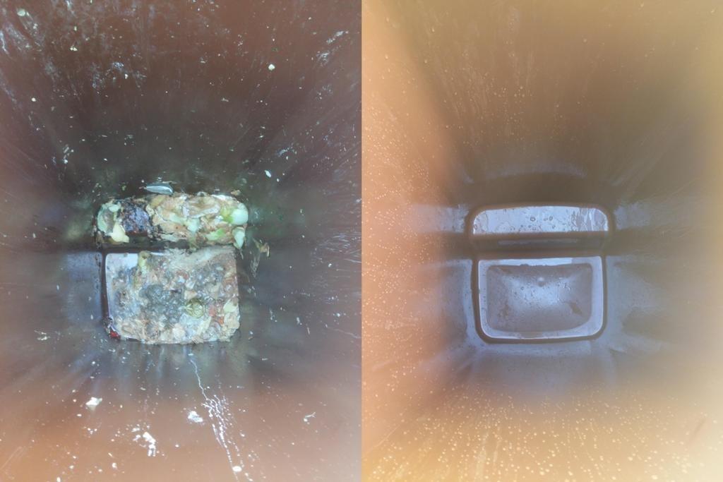 Rentat Interior de contenidors de càrrega posterior